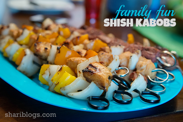 Family Fun Shish Kabobs - http://www.shariblogs.com