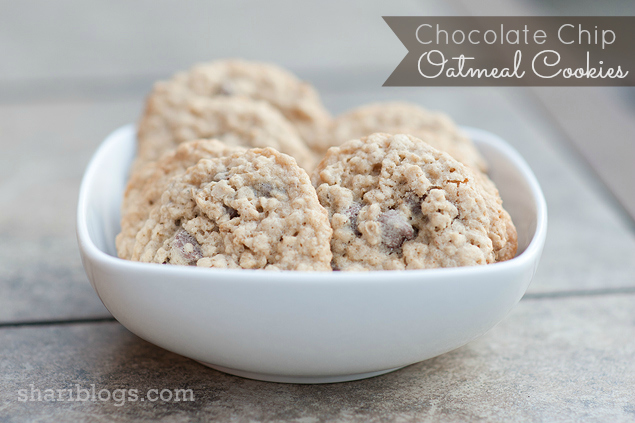 Chewy Chocolate Chip Cookies - http://www.shariblogs.com