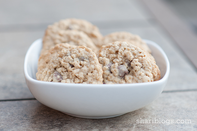Chewy Chocolate Chip Oatmeal Cookies - Shari Blogs...all things simple ...