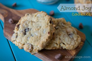 Almond Joy Cookies via Shari Blogs - http://www.shariblogs.com