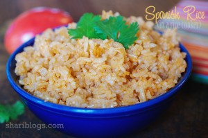 Spanish Rice via Shari Blogs | www.shariblogs.com