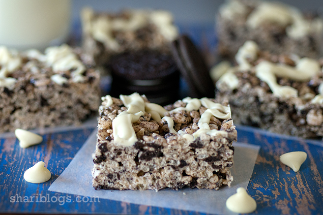Oreo Rice Krispy Treats | www.shariblogs.com