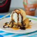Snickers Cookie Bar Ice Cream Sundae | www.shariblogs.com