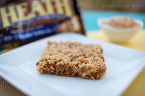 Dulce de Leche Cookie Bars | www.shariblogs.com