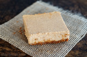 Pumpkin Bars with a Biscoff Cookie Crust | www.shariblogs.com