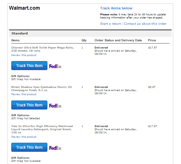 Shop With Walmart | www.shariblogs.com